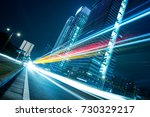 the urban traffic at shenzhen... | Shutterstock . vector #730329217
