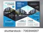 business brochure. flyer design.... | Shutterstock .eps vector #730344007