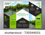 business brochure. flyer design.... | Shutterstock .eps vector #730344031