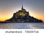 Mont Saint Michel  4  Abbey In...