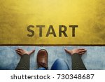start background  top view of... | Shutterstock . vector #730348687