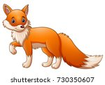 Vector Illustration Of Cute Fo...