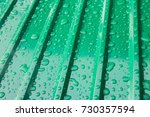 abstract green galvanized steel ...