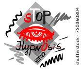 "vector illustration ""stop... | Shutterstock .eps vector #730360804"