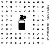 spray icon. set of filled sport ...   Shutterstock .eps vector #730364389