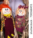 Small photo of Mr and Mrs Scarecrow