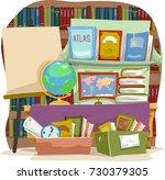 illustration of several... | Shutterstock .eps vector #730379305