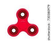 hand fidget spinner toy  ... | Shutterstock .eps vector #730380979