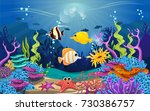 illustrations of the beauty of... | Shutterstock .eps vector #730386757