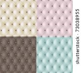 set genuine leather texture in... | Shutterstock .eps vector #73038955