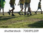 blurred group of young boy... | Shutterstock . vector #730391209