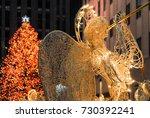 new york city   december 9 ... | Shutterstock . vector #730392241