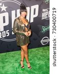 Small photo of MICHELLE MITCHENOR attends the 2017 BET HIP-HOP AWARDS red carpet on Friday, October 6th, 2017 at the FILLMORE MIAMI BEACH AT THE JACKIE GLEAN THEATER - USA