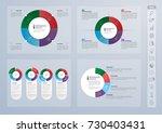 infographics template design... | Shutterstock .eps vector #730403431