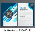 abstract vector modern flyers... | Shutterstock .eps vector #730405141