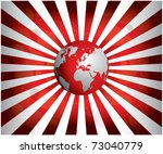 special red background | Shutterstock .eps vector #73040779