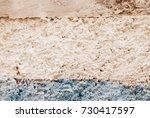 pastel color painted concrete... | Shutterstock . vector #730417597