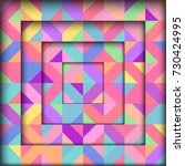 abstract geometric background | Shutterstock .eps vector #730424995