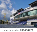 amalie arena  tampa  florida ... | Shutterstock . vector #730458421