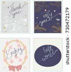vintage ink paint word... | Shutterstock .eps vector #730472179