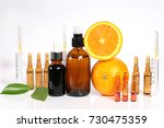 vitamin c and mesotherapy.... | Shutterstock . vector #730475359