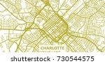 detailed vector map of... | Shutterstock .eps vector #730544575