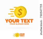 money logo set consisting of... | Shutterstock . vector #730547755