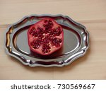 Cut Pomegranate.pomegranate...