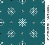 sea design steering wheel...   Shutterstock .eps vector #730588087