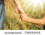 beautiful hands outdoors in a...   Shutterstock . vector #730592935