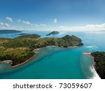 Aerial View Of The Whitsunday...