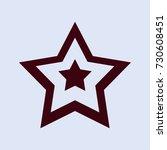 star icon | Shutterstock .eps vector #730608451