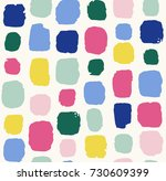 abstract pattern with dots and...   Shutterstock .eps vector #730609399
