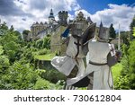 Medieval Fighting Knights In...