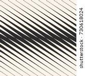 vector diagonal halftone... | Shutterstock .eps vector #730618024