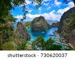 coron  philippines   apr 9 ... | Shutterstock . vector #730620037