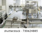 steel conveyor for... | Shutterstock . vector #730624885