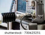 measuring high frequency... | Shutterstock . vector #730625251