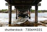 Pillars Of Old Wooden Sea...