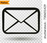 mail  mail icon  mail vector.... | Shutterstock .eps vector #730651429