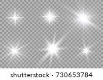 abstract image of lighting... | Shutterstock .eps vector #730653784