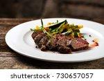Fine Dining  Roasted Steaks...