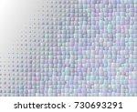 blue particles background