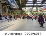 paris  france  27 mar 2017 ... | Shutterstock . vector #730696057