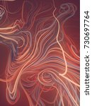 abstract colored strands red...   Shutterstock . vector #730697764