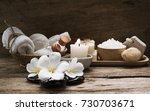 spa aromatherapy products on... | Shutterstock . vector #730703671