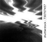 abstract grunge grid polka dot... | Shutterstock .eps vector #730707457