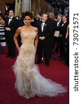 Small photo of LOS ANGELES - FEB 27: Halle Berry arrives at the 83rd Annual Academy Awards - Oscars at the Kodak Theater on February 27, 2011 in Los Angeles, CA.