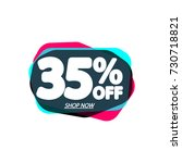 sale tag  speech bubble banner  ... | Shutterstock .eps vector #730718821