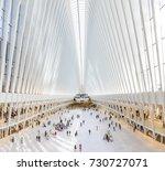 new york  usa   oct 6  2017 ... | Shutterstock . vector #730727071